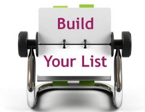 Build your List the Rule of 7
